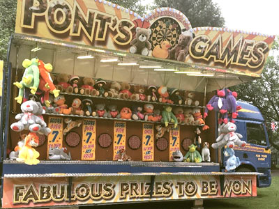Neil Pont's Fun Fairs - Stall