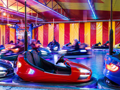 Neil Pont's Fun Fairs - Dodgem Cars