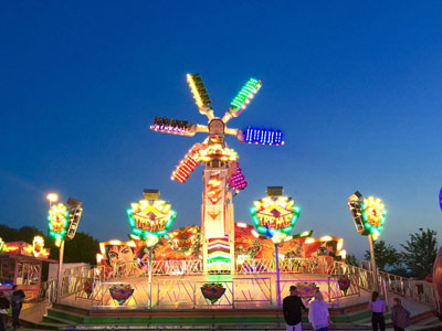 Neil Pont's Fun Fairs -Merry Go Round