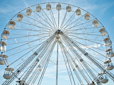 Neil Pont's Fun Fairs - Ferris Wheel